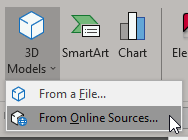 Insert 3D Models