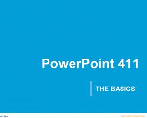 PowerPoint 411