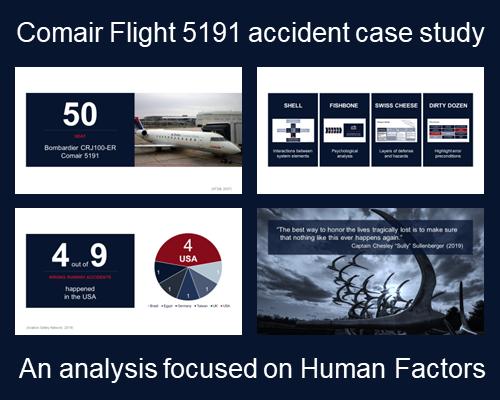 Comair Flight 5191 Accident Case Study (Human Factors)