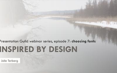 Ep 7: Choosing Fonts